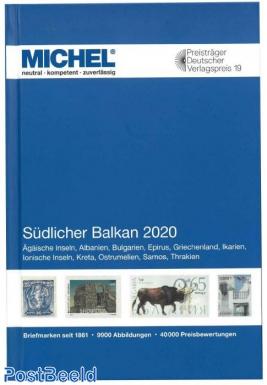 Michel Volume 7 Southern Balkans 2020