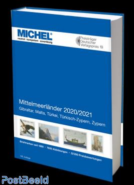 Michel Europe Volume 9 Mediterranean Countries 2020-2021