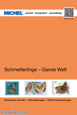 Michel Topical Catalogue Butterflies 2 -  Whole world