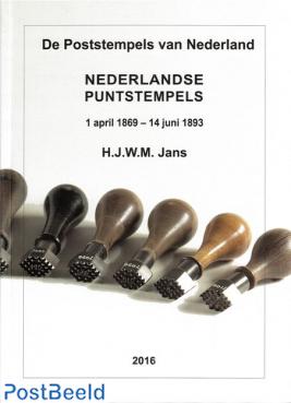 Nederlandse Puntstempels 1 april 1869 - 14 juni 1893