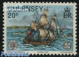 20p, Stamp out of set