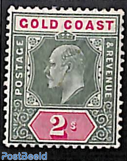 2Sh, WM CA, Stamp out of set