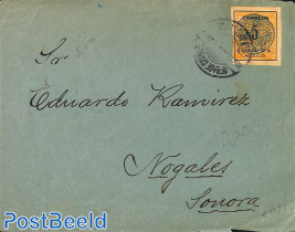 Letter with 5c SONORA stamp