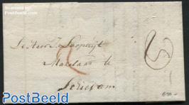 Letter from Delfshaven to Schiedam