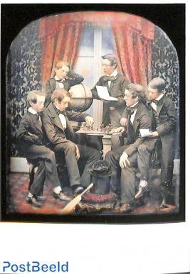 Daguereotype, handtinted, ca. 1853