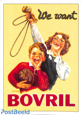 We want Bovril