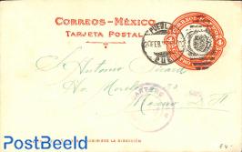 Postcard 4c, used
