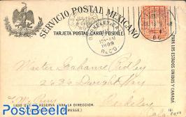 Postcard 2c, used