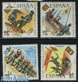 Spanish Legion 4v