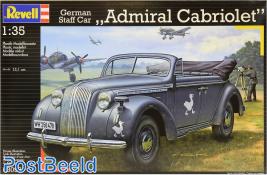 Revell 03099 German Staff Car Admiral Cabriolet