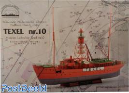 Bouwplaat Lichtschip Texel