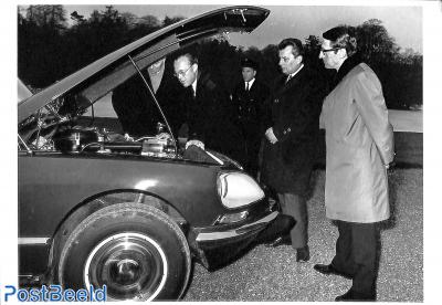 Citroen DS 21, 1968 with Prince Bernhard