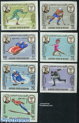 Seiyun, Olympic Winter Games 7v imperforated