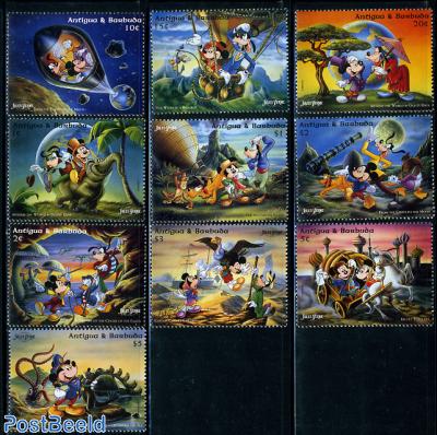 JUles Verne, Disney 10v