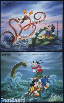 Jules Verne, Disney 2 s/s