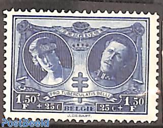 1.50Fr,Stamp out of set