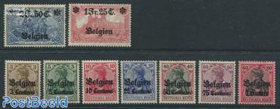 German occupation 9v