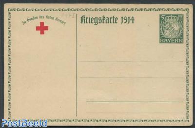 Postcard, Kriegskarte 1914, 5pf