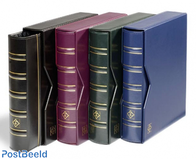 Leuchtturm Optima Classic Coin Album - Blue + Slipcase