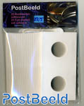 25 Coin holders self-adhesive 22.5mm