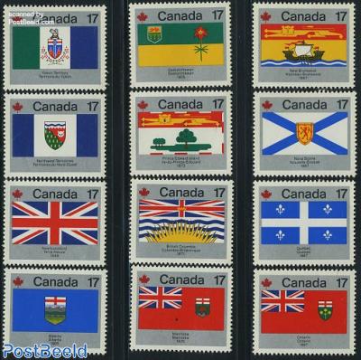 Provincial flags 12v