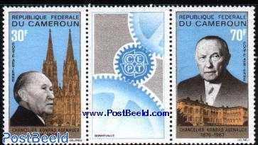 Conrad Adenauer 2v+tab [:T:]