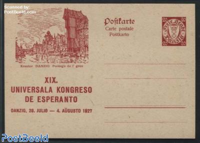Illustrated Postcard, Esperanto 20pf, Krantor