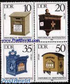 Letter boxes 4v
