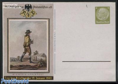 Postcard Stamp Day 6pf