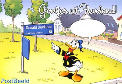 Groetjes uit Flevoland, Donald Ducklaan