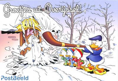 Groetjes uit Overijssel, snow