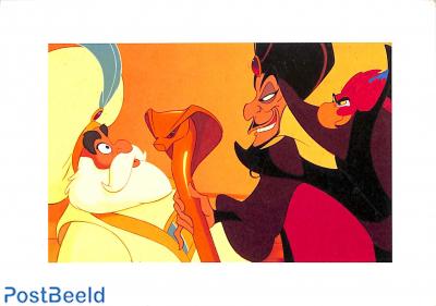 Jafar hypnotises the Sultan