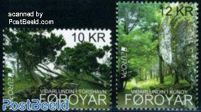 Europa, forest 2v