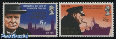 Sir Winston Churchill 2v
