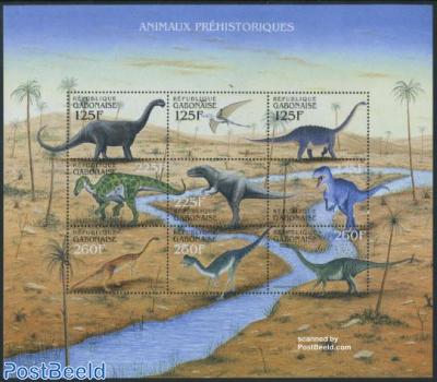 Preh. animals 9v m/s, Camarasaurus