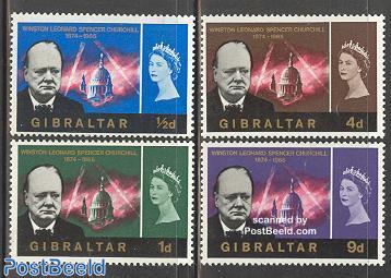 Sir Winston Churchill 4v