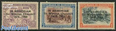 Sir Winston Churchill 3v