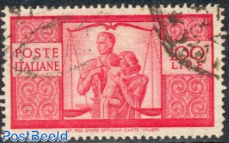100L, Stamp out of set