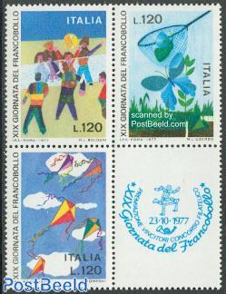 Stamp Day 3v+tab [+]