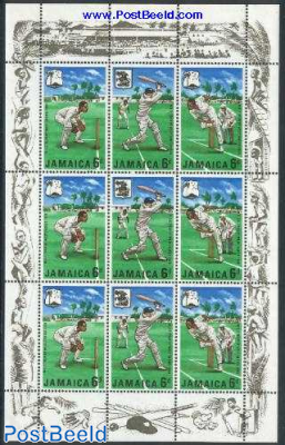 Cricket minisheet