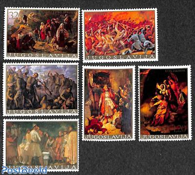 Historic paintings 6v