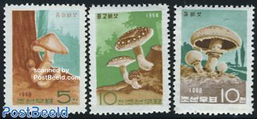 Mushrooms 3v
