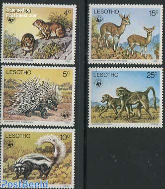 WWF, Animals 5v