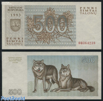 500 Talonu