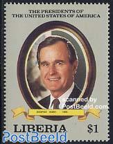 George Bush 1v
