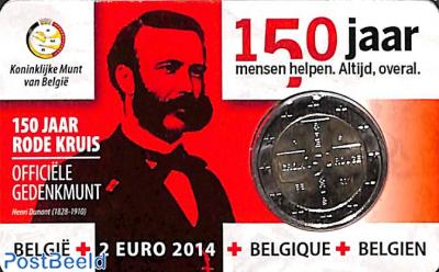 2 euro 2014 Red Cross