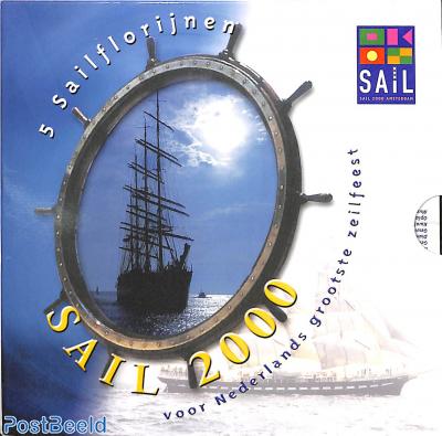 Sail 2000 Amsterdam Token coin set