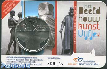 5 euro 2012 Beeldhouwkunst coincard