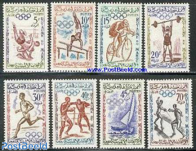Olympic games Rome 8v