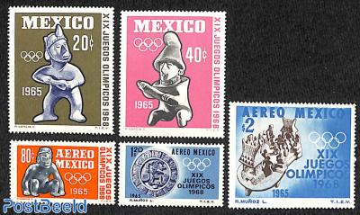 Olympic games 1968 5v